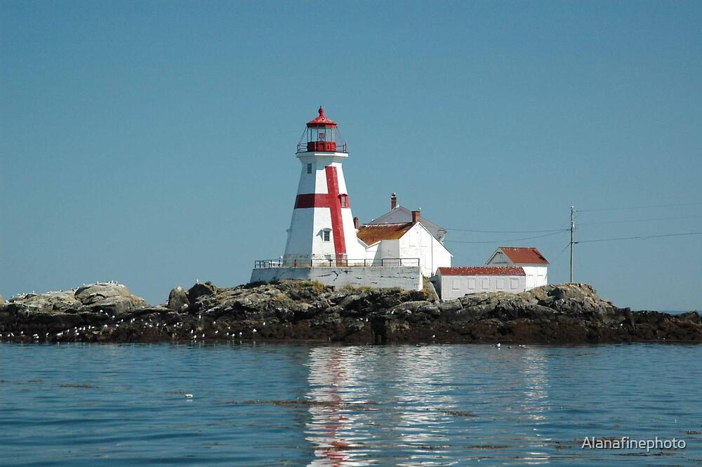 Head Harbour Lighthosue by Alana Ranney