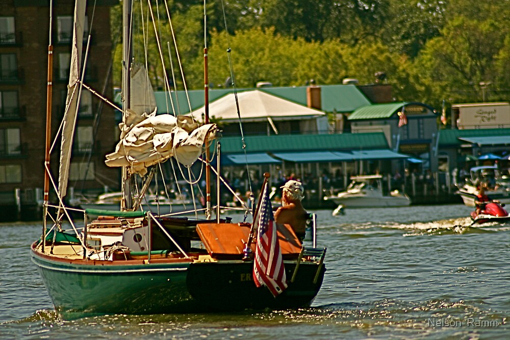 Annapolis by Boat by Nelson  Ramm
