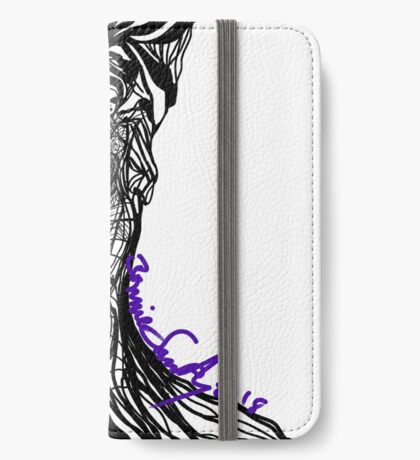 Woman Within iPhone Wallet