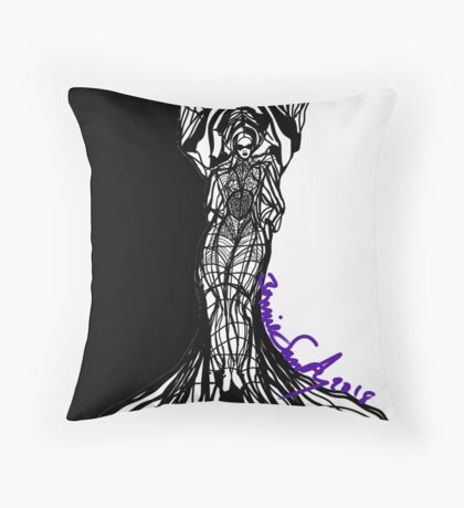 Woman Within Throw Pillow