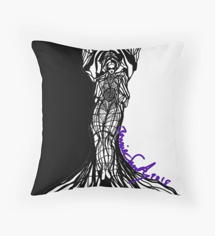 Woman Within Floor Pillow