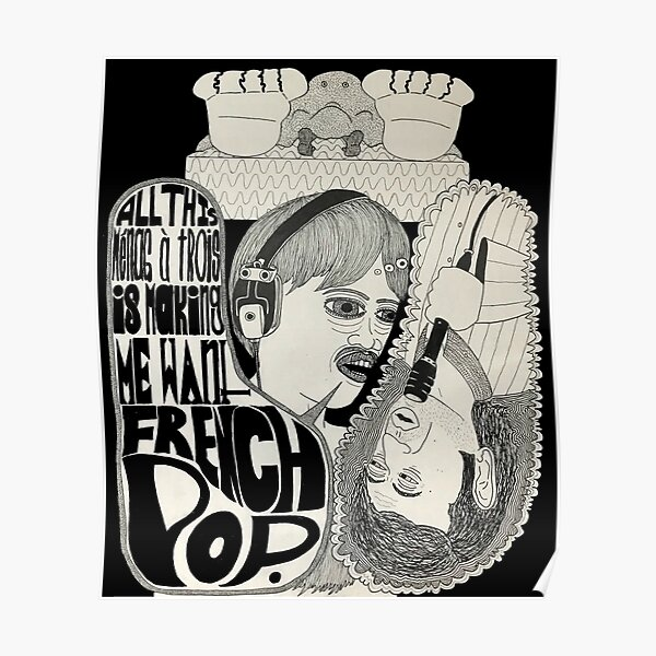 French Pop: An Ode to Serge Poster