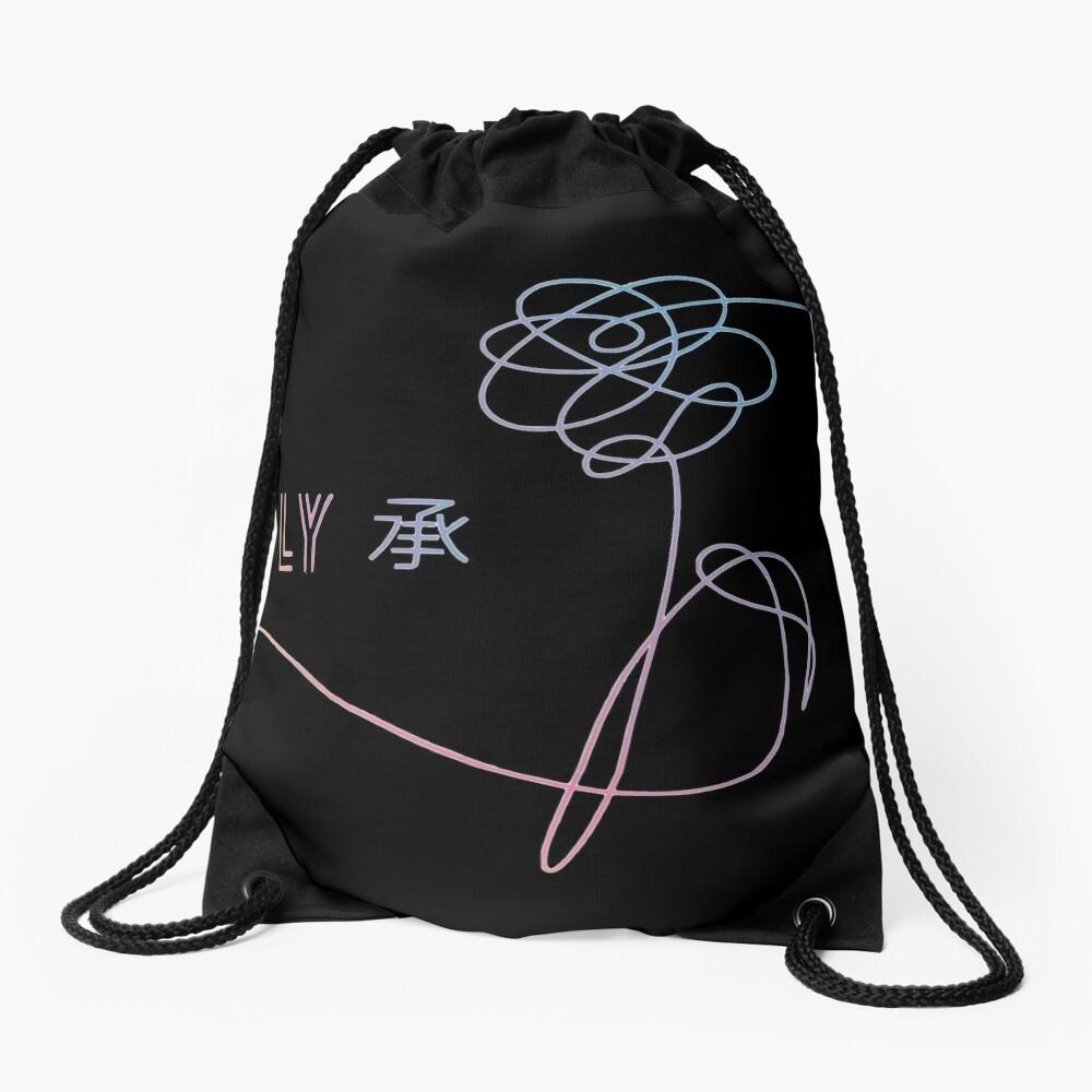 BTS - Love Yourself Drawstring Bag