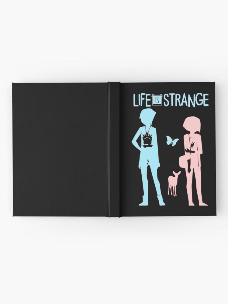 Alternative Ansicht von Das Leben ist seltsam Notizbuch