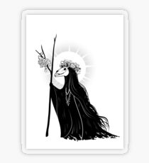 The Dark Queen Transparent Sticker
