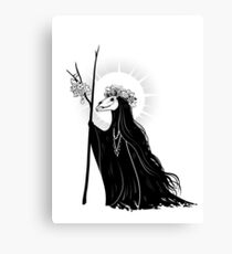 The Dark Queen Canvas Print