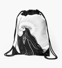 The Dark Queen Drawstring Bag