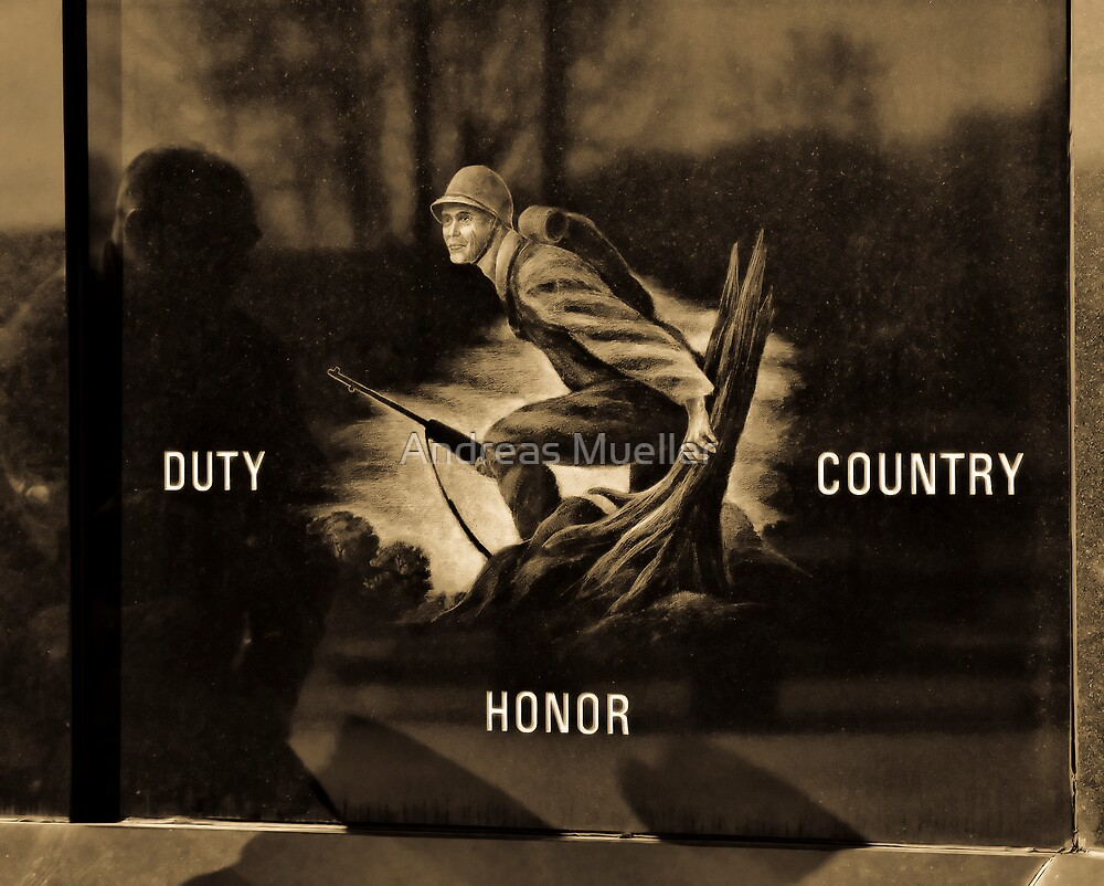 Reflecting on Duty, Honor and Country by Andreas Mueller