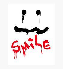 Just Smile Already  Photographic Print