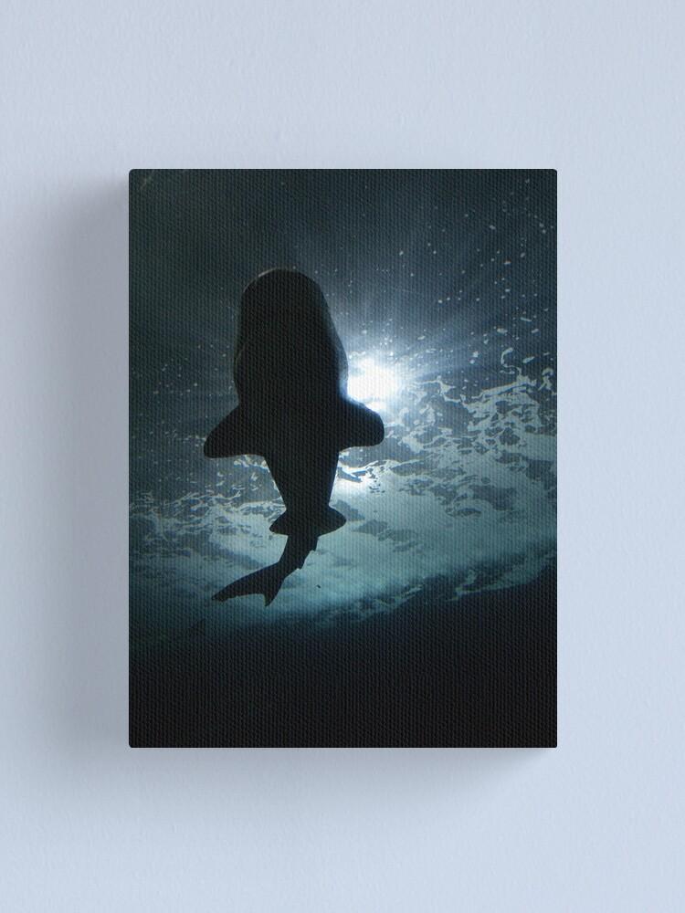 Alternate view of Shark Shadow I Canvas Print