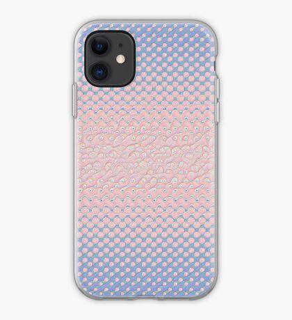 #DeepDream Color Circles Gradient Rose Quartz and Serenity 5x5K v1449298379 iPhone Case