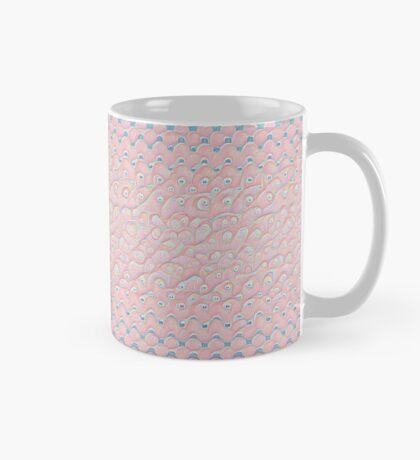#DeepDream Color Circles Gradient Rose Quartz and Serenity 5x5K v1449298379 Mug