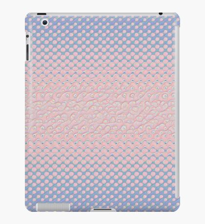 #DeepDream Color Circles Gradient Rose Quartz and Serenity 5x5K v1449298379 iPad Case/Skin