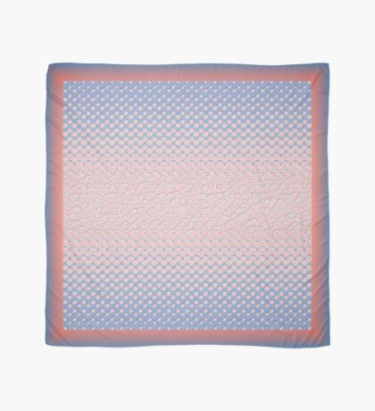 #DeepDream Color Circles Gradient Rose Quartz and Serenity 5x5K v1449298379 Scarf