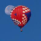 Balloonar Eclipse by Jon  Johnson