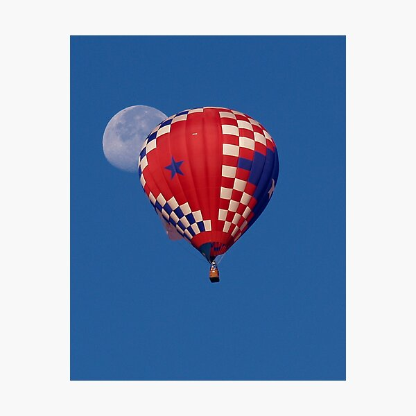 Balloonar Eclipse Photographic Print