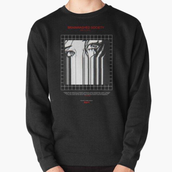 BRAINWASHED SOCIETY Pullover Sweatshirt