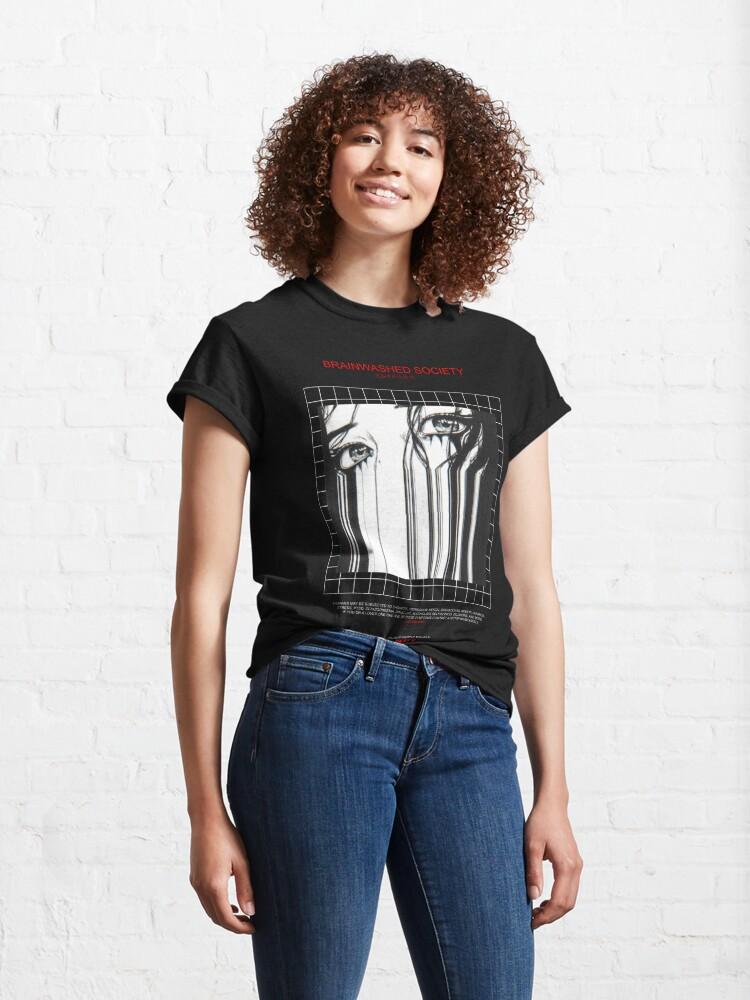 Alternate view of BRAINWASHED SOCIETY Classic T-Shirt