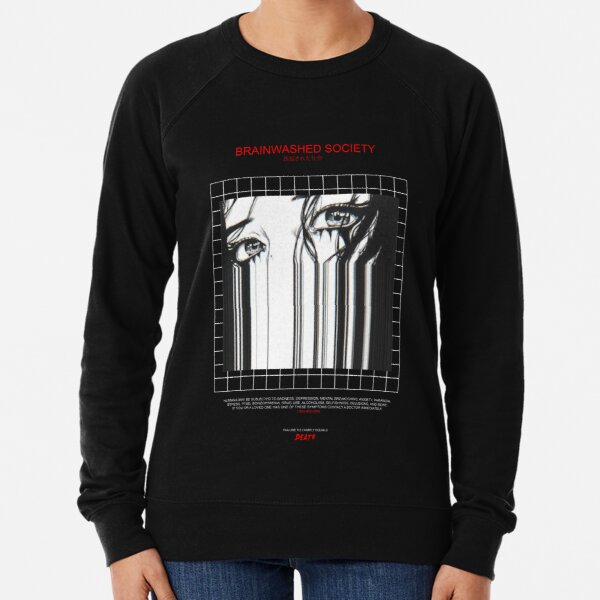 BRAINWASHED SOCIETY Lightweight Sweatshirt