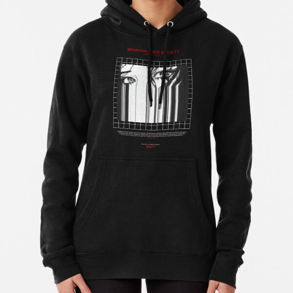 BRAINWASHED SOCIETY Pullover Hoodie