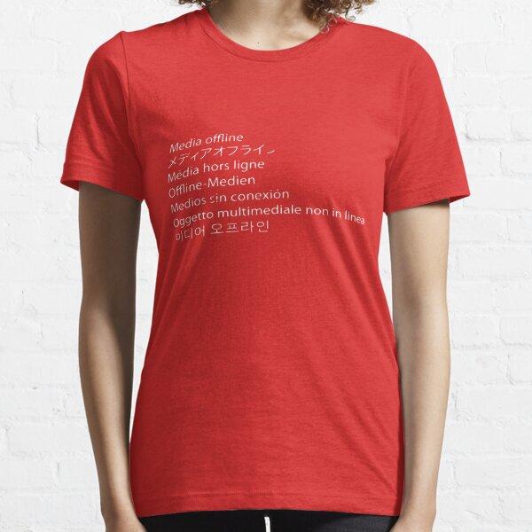 Premiere Error - Media Offline Essential T-Shirt