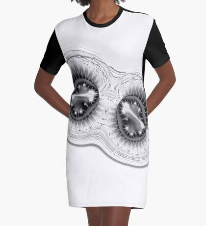 Amoeba 8 Graphic T-Shirt Dress