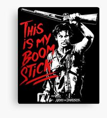this is my boom stick Canvas Print