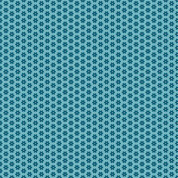 Abstract Turquoise Pattern 4 by ADCreations