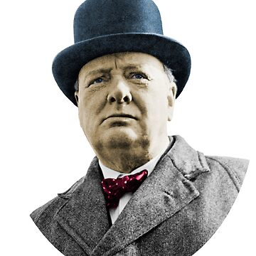 Winston Churchill  by randomarthouse