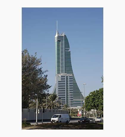 Bahrain Financial Harbour Photographic Print