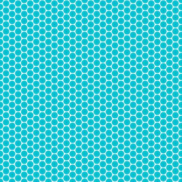 Abstract Turquoise Pattern 6 by ADCreations