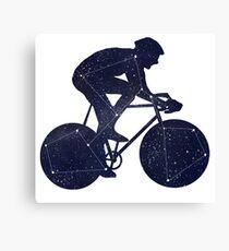 Bikestellation Canvas Print