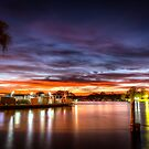 Sunrise ferry by Dave  Hartley