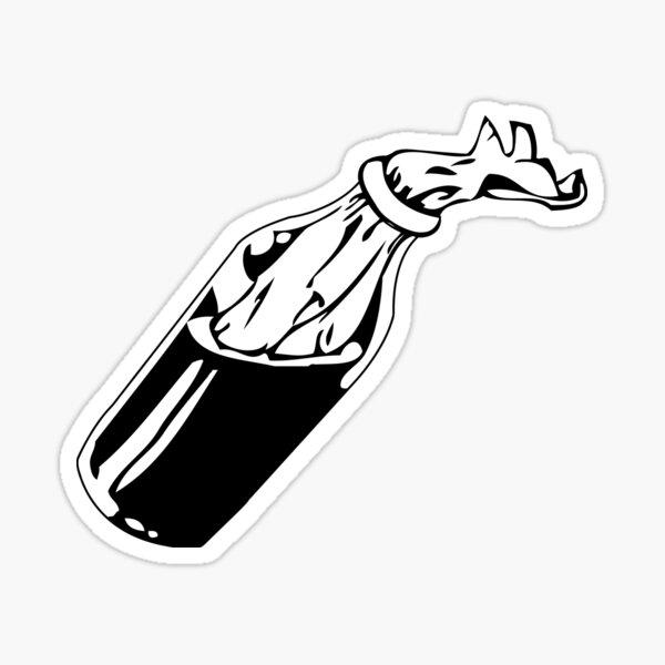 Molotov Cocktail Sticker