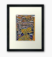 The Mullahs Floe Framed Print