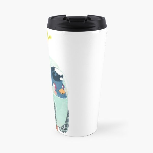 Space Birb Travel Mug