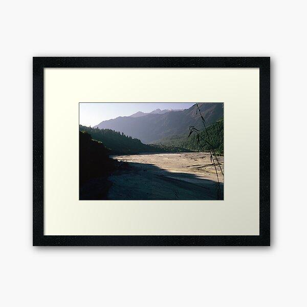 Kali Gandaki Framed Art Print