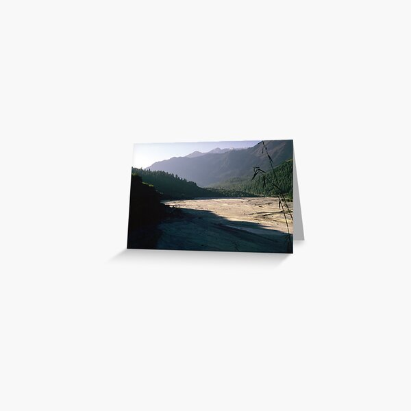 Kali Gandaki Greeting Card