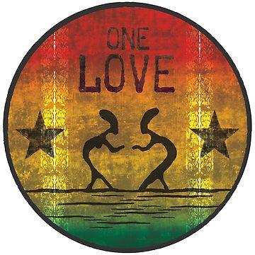 reggae - one love von Periartwork