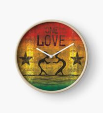 reggae - one love Uhr