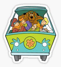 Pegatina Scooby Doo