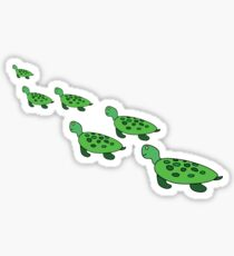 The Turtle Family Sticker