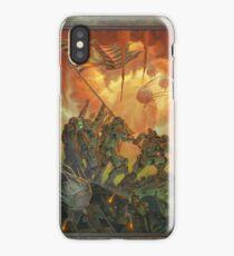 Fallout Brotherhood of Steel Victory Fan Art Poster  iPhone Case