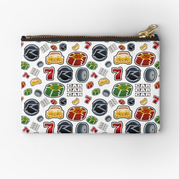 Race Your Dream Zipper Pouch