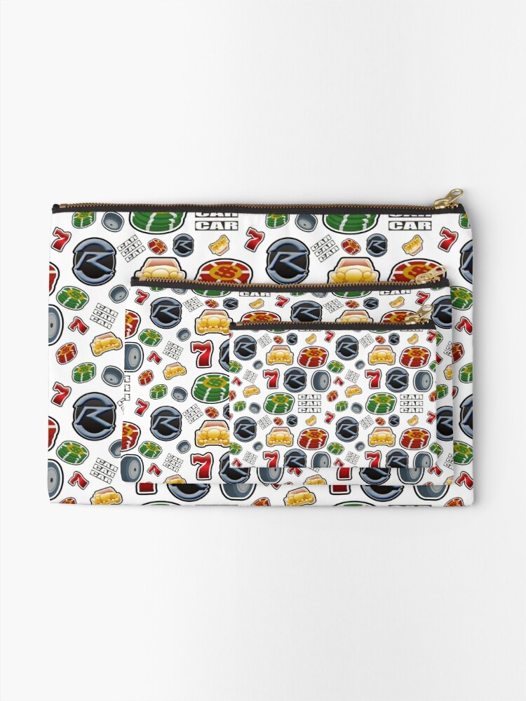 Alternate view of Race Your Dream Zipper Pouch