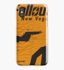 Fallout New Vegas War Never Changes Fan Art Poster  iPhone Case