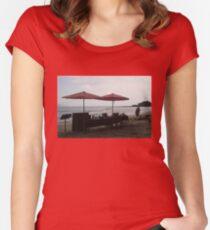 A BEACH Beach BAR Women's Fitted Scoop T-Shirt
