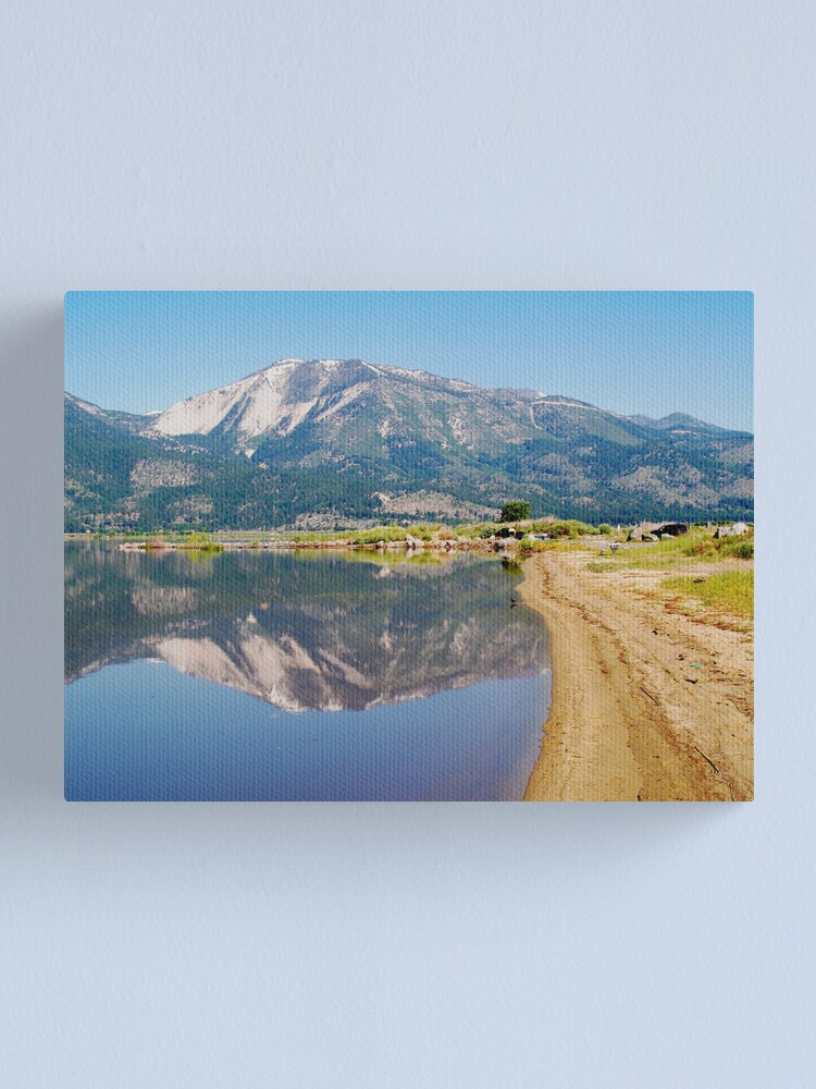Alternate view of Washoe Slide II Canvas Print