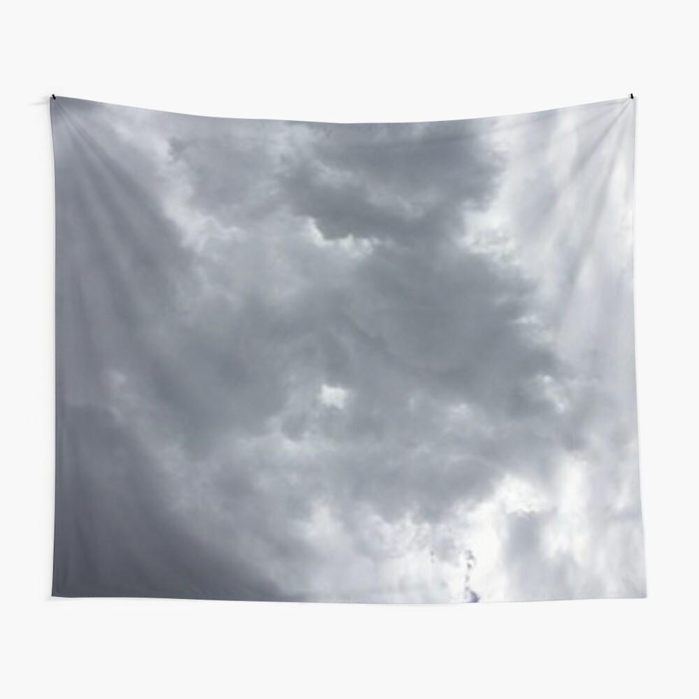 Regnerischer Tag Wandbehang