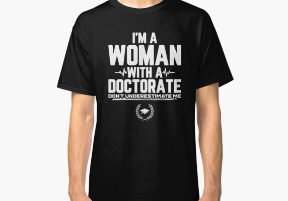 Funny Doctorate Graduation Gift For Doctorate Of Education